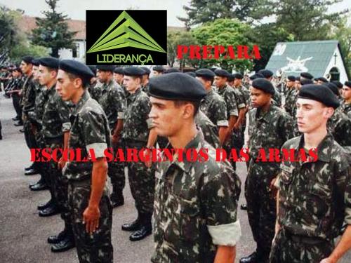 Exército abre inscrições para 1.100 vagas da Escola de Sargento de Armas
